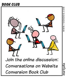 Conversations on Website Conversion Book Club